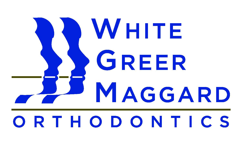 White Greer Maggard Orthodontics Sponsor Logo